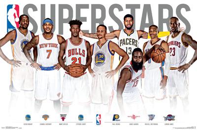NBA- Superstars Posters