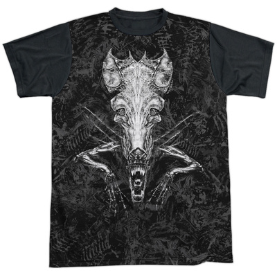 Alien- Nightmare Vision Black Back T-Shirt