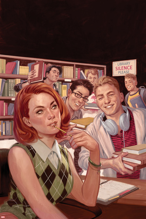 Patsy Walker, A.K.A. Hellcat! No. 7 Cover Art Featuring: Patsy Walker Photo by Julian Totino Tedesco