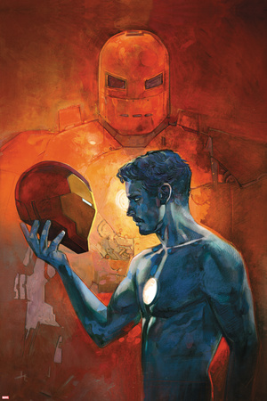 International Iron Man No. 3 Cover Art Featuring: Iron Man, Tony Stark Prints by Alex Maleev