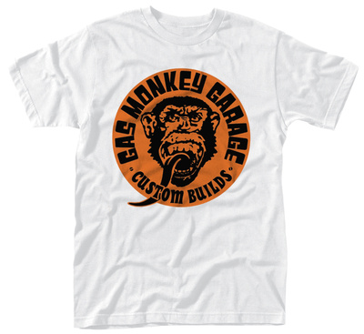 Gas Monkey- Custom Builds Logo T-shirt