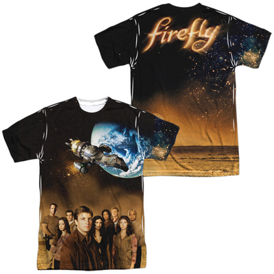Firefly- Cast Poster (Front/Back) Sublimated