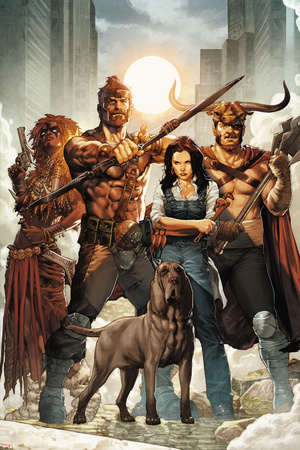 Hercules No. 6 Cover Art Posters by Jay Anacleto