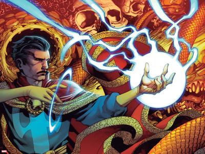 Doctor Strange No. 7 Cover Art Featuring: Dr. Strange Prints by Chris Stevens