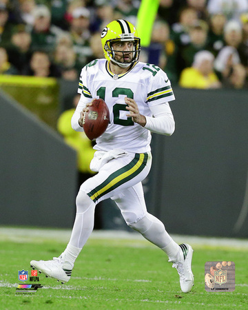 Aaron Rodgers 2016 Action Photo