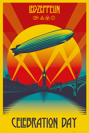 Led Zeppelin- Celebration Day Posters
