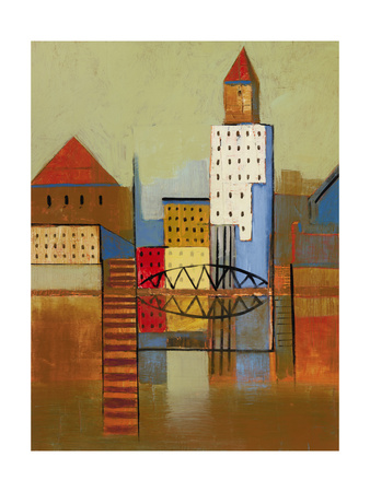 Inner Harbour 2 Premium Giclee Print by Ben Gordon