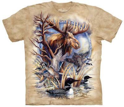 Jody Bergsma- Never A Loon T-Shirt