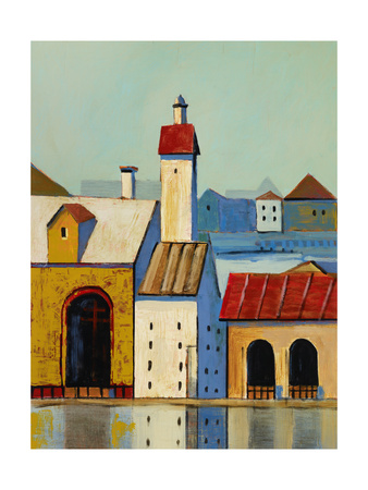 Inner Harbour 3 Premium Giclee Print by Ben Gordon
