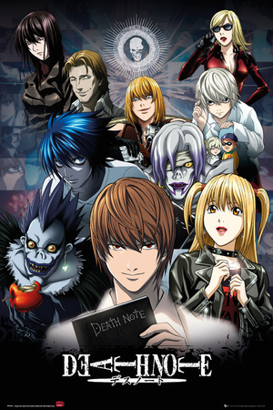 Death Note- Collage Stampa