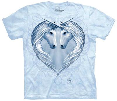 Anne Stokes- Unicorn Heart T-shirts