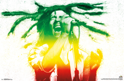 Bob Marley- Electric Vibe Posters