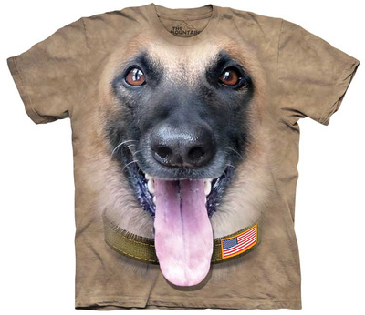 Kenneth Pomichter- Big Face Belgian Malinois Shirts