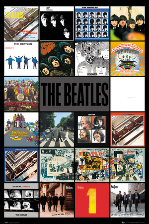 The Beatles- Albums Poster