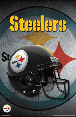 NFL: Pittsburgh Steelers- Logo Helmet 16 Posters