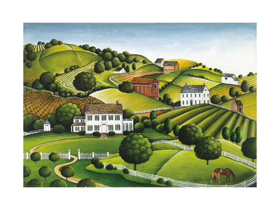 Apple Valley Print by David Carter Brown