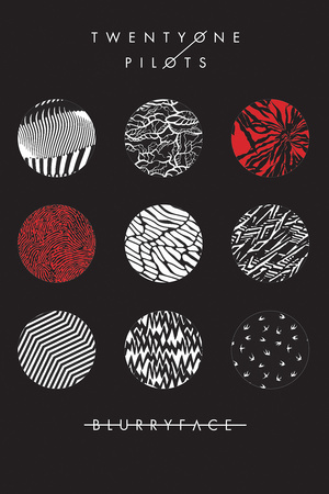 Twenty One Pilots- Blurryface plakat