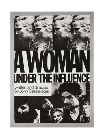 A Woman under the Influence, 1974 Giclee Print!