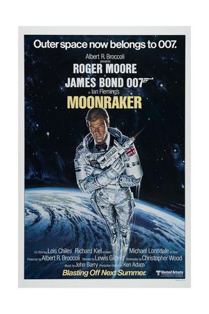 007, James Bond: Moonraker, 1979 (Moonraker) Giclee Print