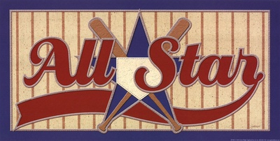 All Star Poster by Jeremy Wright