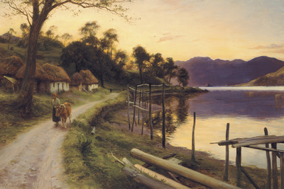 On the Way Home Giclee Print by Joseph Farquharson