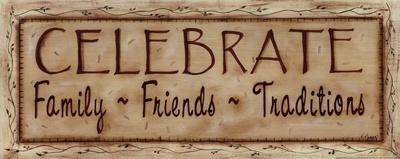 Celebrate Faith Family Friends Art by Kim Klassen