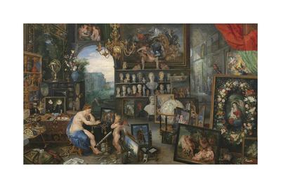 The Five Senses - Sight Premium Giclee Print by Sir Peter Paul Rubens