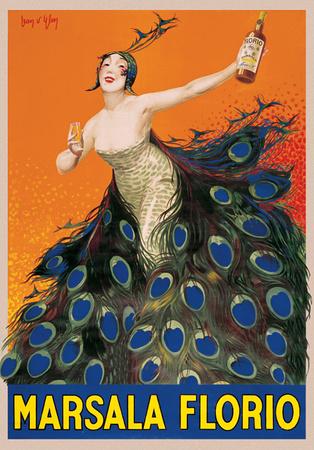 Jean D'Ylen- Marsala Florio Print by Jean D'Ylen