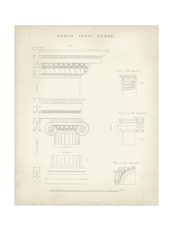 Greek and Roman Architecture V Prints by Thomas Kelly