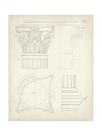 Greek and Roman Architecture I Posters by Thomas Kelly