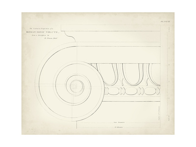 Greek and Roman Architecture VII Prints by Thomas Kelly