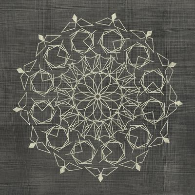 Geometric Tile III Print by Chariklia Zarris