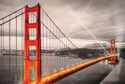 San Francisco- Golden Gate Bridge Posters