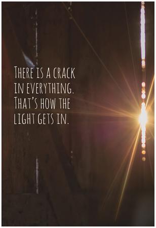 Crack in The Light Print