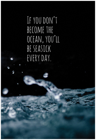 Become The Ocean Print