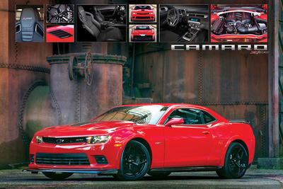 Chevrolet: Camaro- Detailed Z/28 Posters