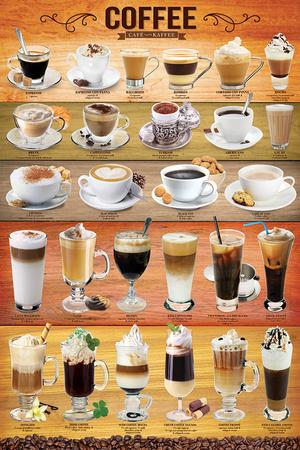 Coffee Mixology Collage Photo
