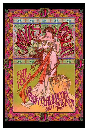 Bob Masse- Janis Joplin Avalon Ballroom Nov 1967 plakat
