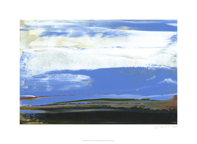Deconstructed View in Blue I Limited Edition by Sharon Gordon