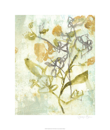 Washed Floral II Limited Edition by Jennifer Goldberger