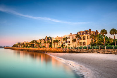 Charleston, South Carolina, USA at the Historic Homes on the Battery Photographic Print by Sean Pavone