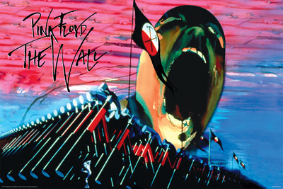 Pink Floyd- The Wall Hammers & Scream Posters