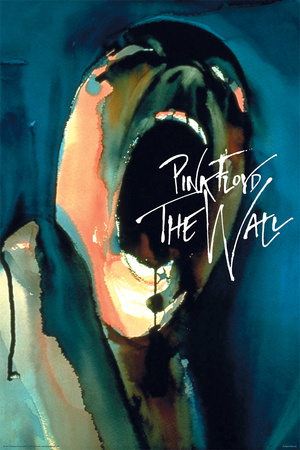 Pink Floyd- The Wall Scream plakat