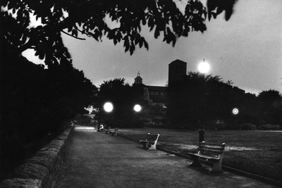 Fort Tyron Park One of the Biggest Drop Pointsfor Spy Rudolf Invanovich Abel, New York, NY, 1957 Photographic Print by Walter Sanders