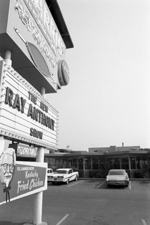 One of the Properties of Restaurateur Donald Nixon (Richard Nixon's Brother), Whitter, California Photographic Print by Grey Villet