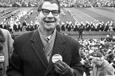 Spectators at the Minnesota- Iowa Game, Minneapolis, Minnesota, November 1960 Photographic Print by Francis Miller