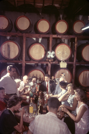 February 11, 1957: Trocadero Rum Distillery in Havana, Cuba Photographic Print by Ralph Morse