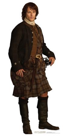 Jamie Fraser, Scottish Version - Outlander Cardboard Cutouts
