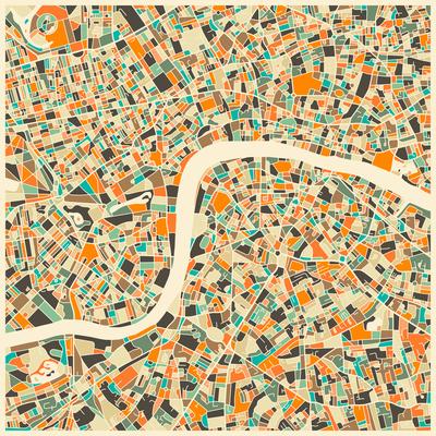 London Map Prints by Jazzberry Blue