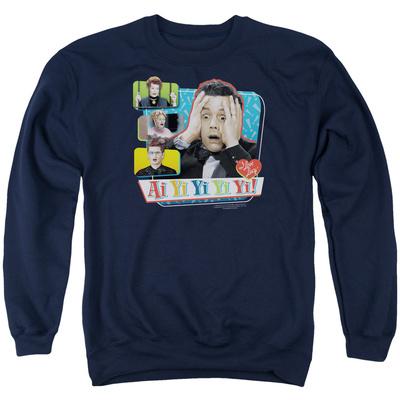 Crewneck Sweatshirt: I Love Lucy - Ai Yi Yi Yi Yi T-shirts